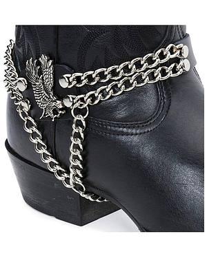 Eagle & Chain Boot Strap
