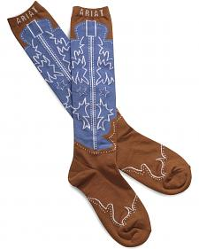 Ariat Western Boot Knee High Socks