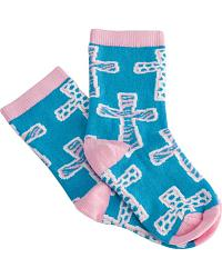 Justin Keep It Gypsy Girls' Cross Socks at Sheplers