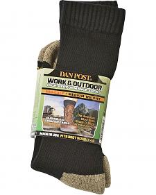 Dan Post Mid-Calf Medium Weight Performance Socks