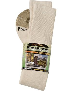Dan Post Over-the-Calf Medium Weight Performance Socks