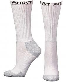 Ariat Men's Mid Calf Socks - 3 Pack
