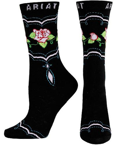 Ariat Rose Crew Socks Western & Country A10011743
