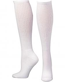 Boot Doctor Women's Over the Calf Half Cushion Socks