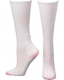 Boot Doctor Women's Over the Calf White Boot Socks - 3 Pack
