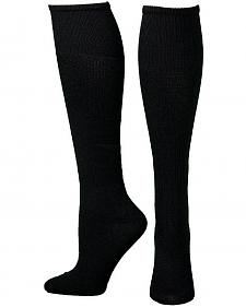 Boot Doctor Men's Over the Calf Black Boot Sock