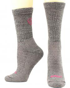Ariat Ladies Merino Light Hiker Socks