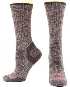 Ariat Men's Merino Mid Weight Hiker Socks - Two Pack