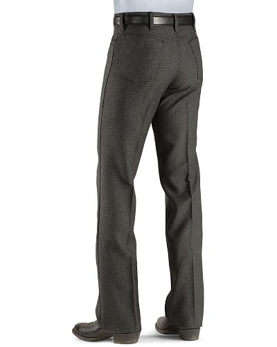 Wrangler Jeans Wrancher Heather Regular Fit Stretch Western & Country 00082HU_X5