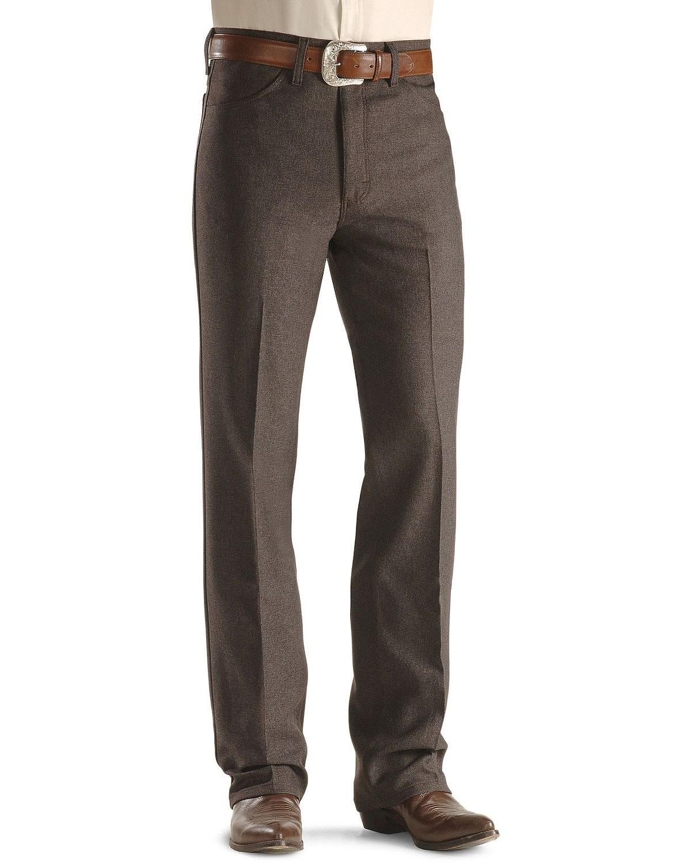 Wrangler Men S Jeans Wrancher Heather Regular Fit Stretch 00082hu X5