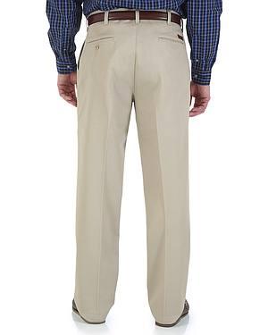 "Wrangler Rugged Wear Pleated Pants - Big Up to 50"" Waist"