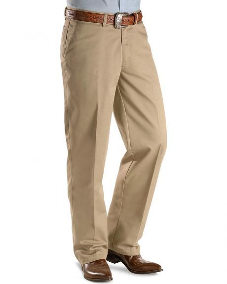 Wrangler George Strait flat front casual pants