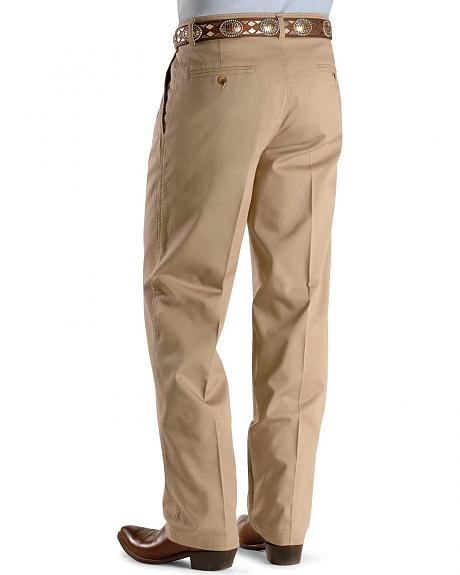 Wrangler George Strait pleated front casual pants