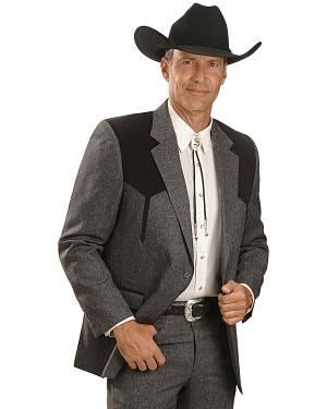 Circle S Boise Western Suit Coat - Short, Reg, Tall