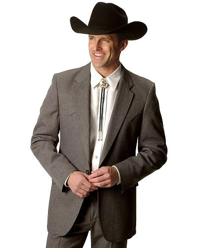 Circle S Mens Lubbock Suit Coat Short, Reg, Tall Western & Country DARK LODEN