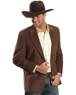Circle S Corduroy Sport Coat - Big and Tall