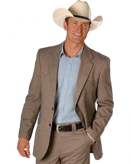 Circle S Tweed Sport Coat - Reg & Tall