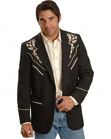 Scully Floral Embroidered Western Jacket