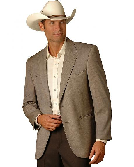 Circle S Carson City Western Sport Coat - Reg & Tall