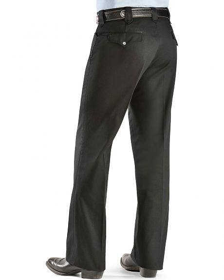 Circle S Black Twill Pants