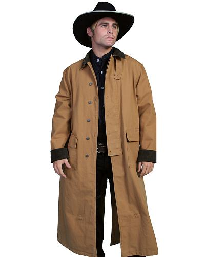 RangeWear by Scully Long Canvas Duster $127.00 AT vintagedancer.com
