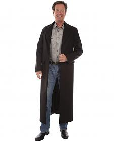 WahMaker by Scully Long Ruffle Frock Coat