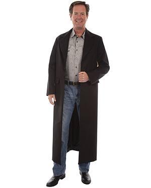 WahMaker by Scully Long Ruffle Frock Coat