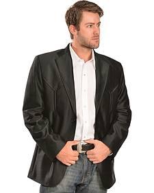 China Leather Men's Western Blazer