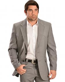 Circle S Men's Steel Grey Lubbock Sportcoat
