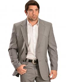 Circle S Steel Grey Lubbock Sportcoat - Big and Tall