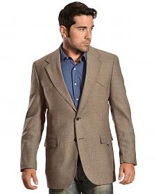 Circle S Men's Lambswool Plano Sportcoat