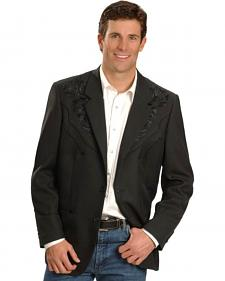 Scully Men's Floral Yoke Blazer - Big and Tall Sizes (50T - 54T)
