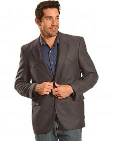 Circle S Men's Slate Grey Plano Sport Coat - Big & Tall