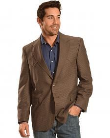 Circle S Men's Brown Fort Worth Sport Coat - Big & Tall