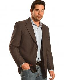 Circle S Men's Coffee Bean Lubbock Sport Coat - Big & Tall