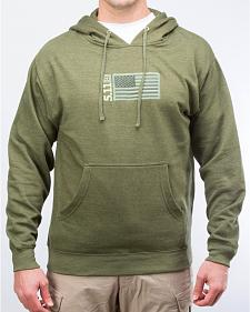 5.11 Tactical Men's Embroidered Flag Hoodie