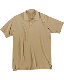 5.11 Tactical Professional Short Sleeve Polo Shirt - Tall Sizes (2XT - 5XT)