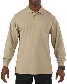 5.11 Tactical Professional Long Sleeve Polo Shirt - Tall Sizes (2XT - 5XT)