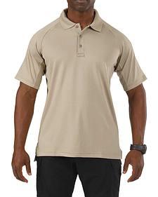 5.11 Tactical Performance Short Sleeve Polo Shirt - Tall Sizes (2XT - 5XT)
