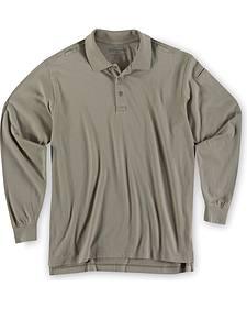 5.11 Tactical Jersey Long Sleeve Polo - 3XL