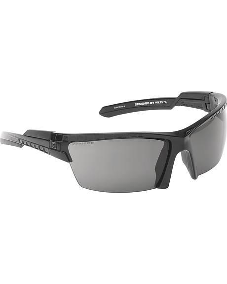 5.11 Tactical CAVU Half Frame Sunglasses (Three Plain Lens)
