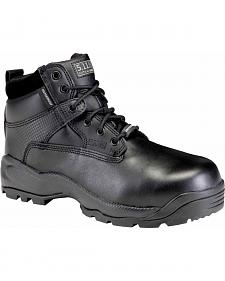 "5.11 Tactical Men's A.T.A.C. 6"" Shield Side Zip ASTM Boots"