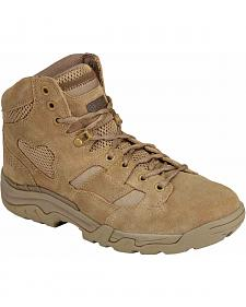 "5.11 Tactical Men's Taclite 6"" Coyote Boots"