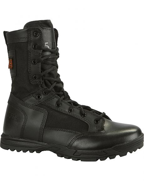 5.11 Tactical Men's Skyweight Side-Zip Leather Boots