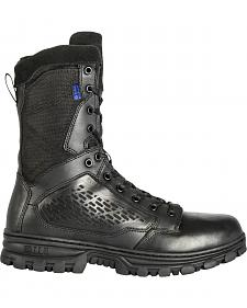 "5.11 Tactical Men's Evo 8"" Waterproof Side-Zip Boots"