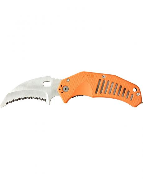 5.11 Tactical LMC Curved Rescue Blade Knife (Clamcard)