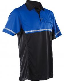Tru-Spec Men's 24-7 Royal Blue Bike Polo Shirt