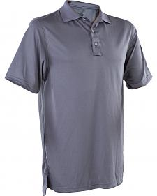 Tru-Spec Men's Dark Grey 24-7 Performance Polo