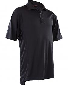 Tru-Spec Men's Black 24-7 Dri-Release Polo Shirt