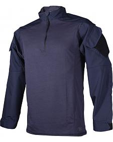Tru-Spec Men's Navy Urban Force TRU 1/4 Zip Combat Shirt